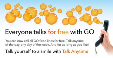 Unlimited free calls with the new GO Plus tariff