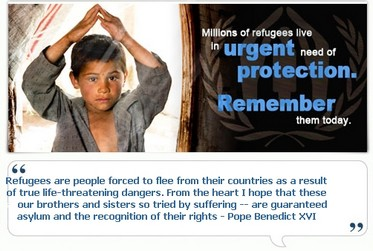 World Refugee Day - AD on detention period