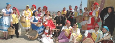 The Astra Folk Group in Carpineto Romano
