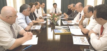 Ernst & Young Meeting on investment possibilities in Gozo