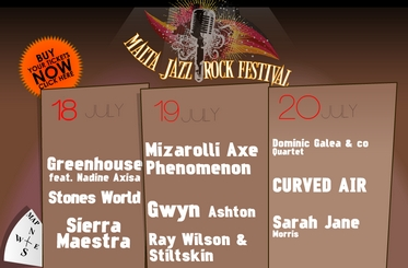 Free tickets for Malta Jazz Festival - Vodafone