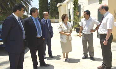 University of Malta Rector visits Gozo