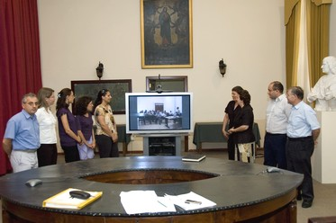 Video-conferencing training session in Gozo