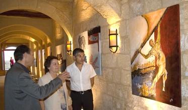 Art exhibition by Alfio Sorbello at the Citadel