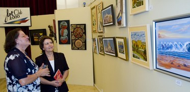 Art Club 2000 exhibition at the Ministry for Gozo
