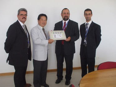 The Chinese Ambassador visits MaltaPost