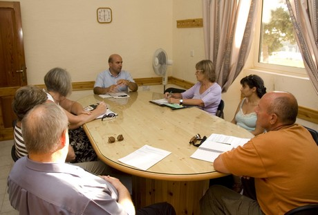 EUPIU holds meetings with local councils and NGO's