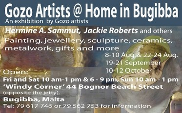 Gozo Artists @ Home in Bugibba Exhibition