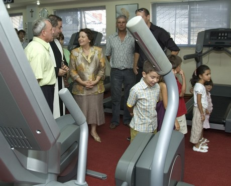 Official opening of The Bern Hersey's Health Beauty & Fitness Centre