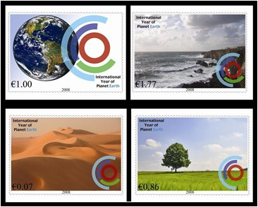 International Year of Planet Earth stamp issue