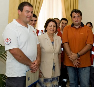 Malta Red Cross Gozo Branch signs agreement with Italian Branch