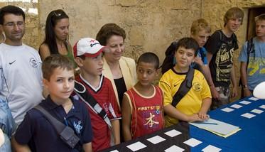 Heritage Malta participates with Skola Sajf in Gozo