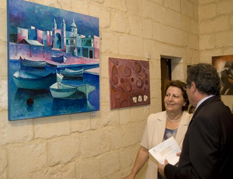 Gozo Fine Art & Sculpture Exhibition inaugurated