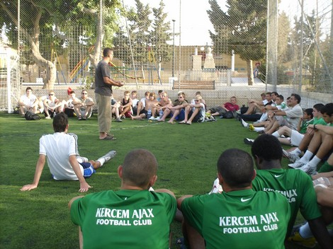 Kercem Ajax Football Club hosts Fair Play international youth exchange