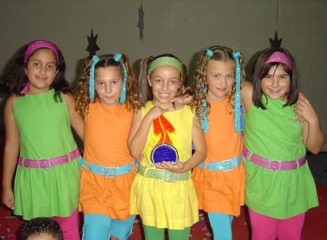 M-five - a group of five singers from Gozo placed second in Junior Live Festival 2008