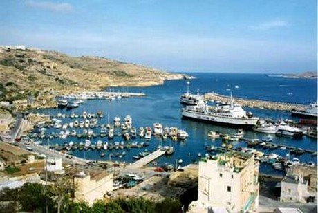 Mgarr harbour