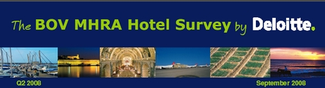 BOV MHRA Hotel Survey by Deloitte released