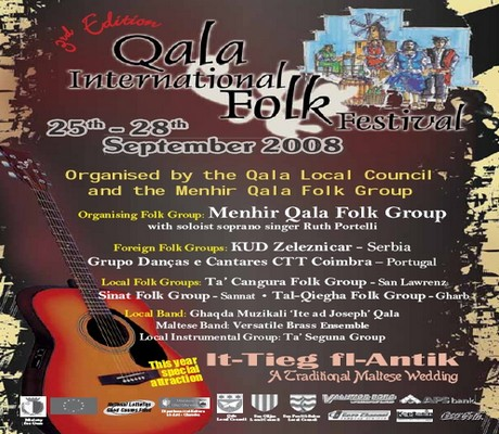 3rd edition of the Qala International Folk Festival
