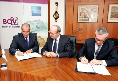 BOV and Amex announce new partnership to distribute Amex cards in Malta