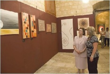 'Dawn' in Gozo inspired art by Emma Borg