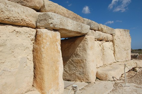Shelter project at Hagar Qim & Mnajdra Temples on Track