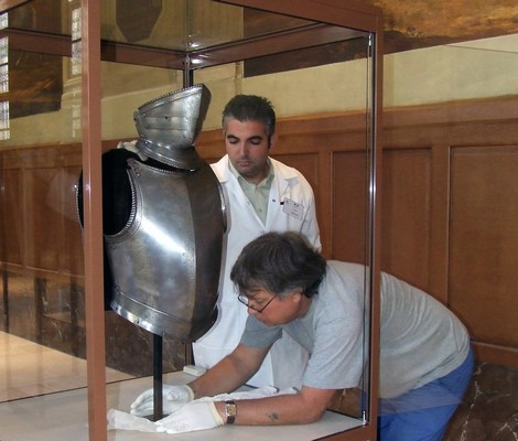 Exhibition on Maltese arms and armour in Paris