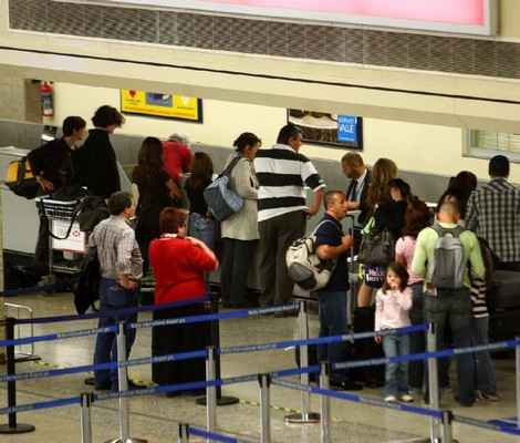 October airport passenger movements down by 6.1%