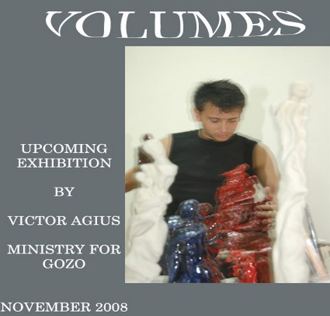 'Volumes' an art exhibition by Victor Aguis