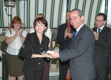 Astrid Vella receives special prize for most deserving entry at Strasbourg