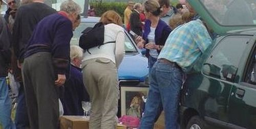 The Friends of the Sick and Elderly car boot sale