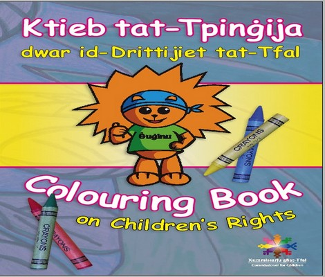 Children's Rights Colouring Book launched