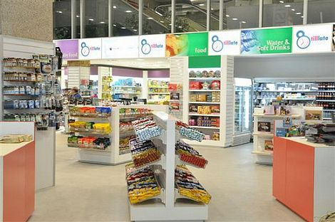 New convenience shop opened at the Airport