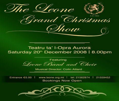 The Leone Grand Christmas Show