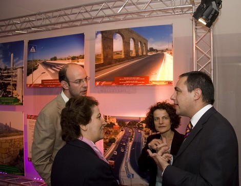 Photo exhibition featuring EU funded projects