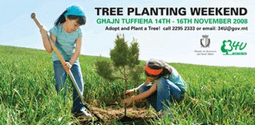 Tree Planting Weekend - Adopt and Plant a Tree!