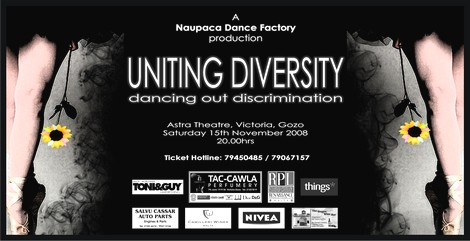 'Uniting Diversity dancing out discrimination'