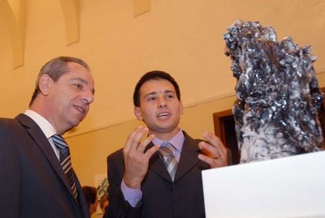 'Volumes' a sculpture exhibition inaugurated