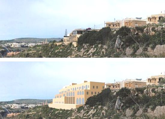 Yet another development threat to the Gozo skyline