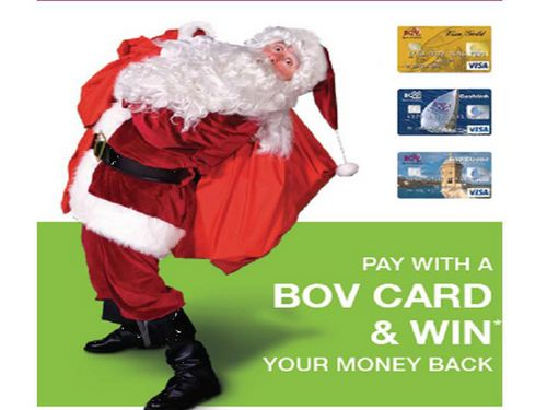 BOV launches Christmas cashback promotion