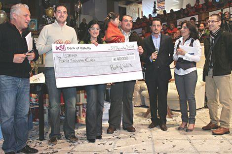 BOV Istrina Campaign 2008 raises €40,000