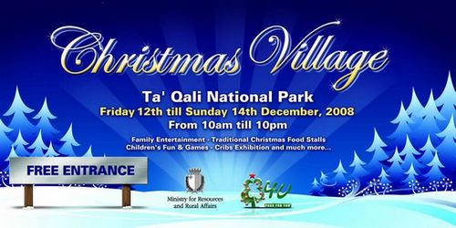 Melita supports the Christmas Village in Ta' Qali