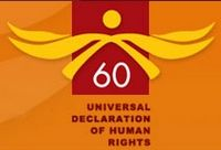 60th Anniversary of the signing of the Universal Declaration of Human Rights