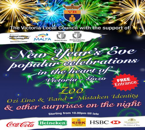 New Year's Eve celebrations in the heart of Victoria