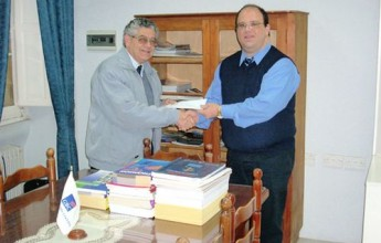 Publications donated to Gozo Business Chamber