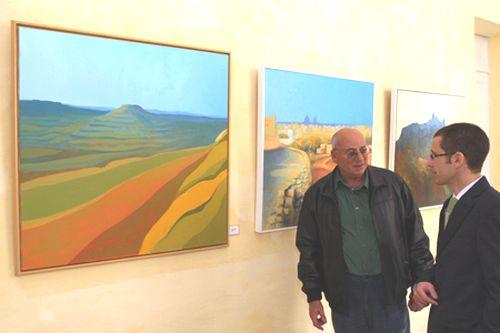 Local artist Richard Saliba sponsored by BOV