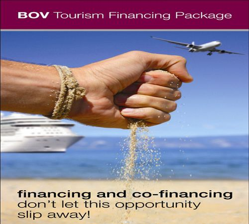 Financing for sustainable tourism by BOV