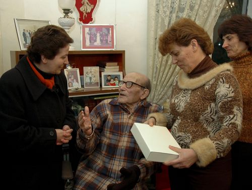 Francis Cauchi of Gharb celebrates 100th birthday