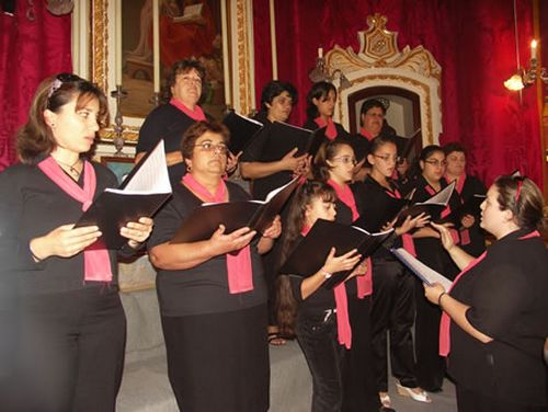 Xaghra's Nativitas Choir activities for January