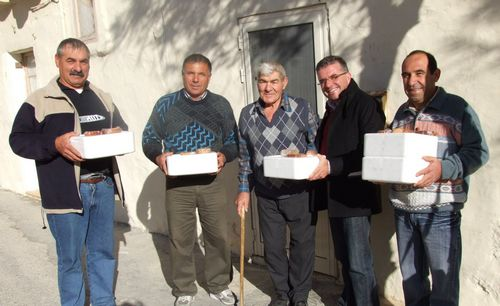 Christmas meals distributed at San Lawrenz
