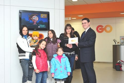 Winners of Go Plus Mickey Live Competition